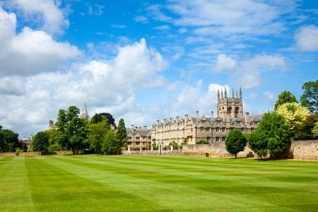 Merton College met kapel, de Universiteit van Oxford, England