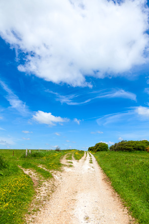 he North Downs Way National Trail in southern England