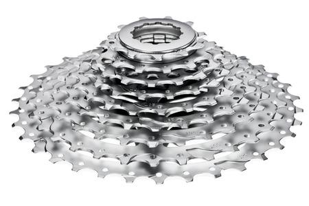 Mountain bike 9-speed cassette  photo