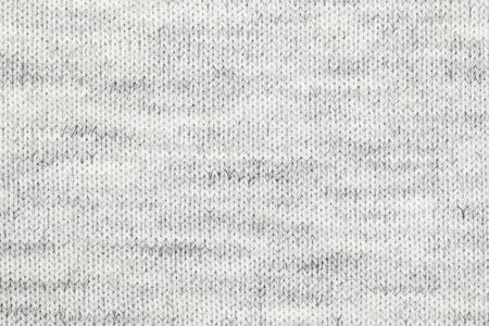 Real grijze gebreide stof gemaakt van heathered garen geweven achtergrond