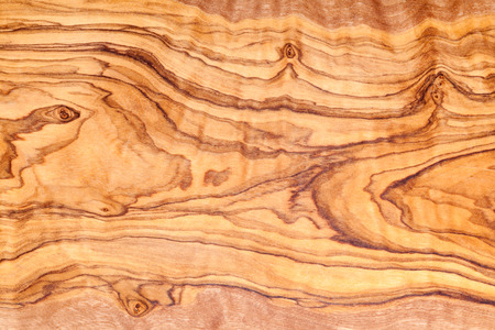 Olive tree wood slice with texture and details Standard-Bild
