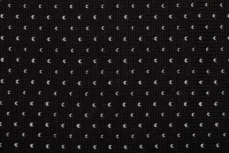 black textured background: Black knitted fabric  textured background