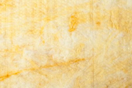 Mineral wool (or mineral fiber, mineral cotton, mineral fibre, glass wool, MMMF, MMVF) fiber thermal insulation batt texture