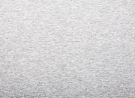 Heather grey cotton shirt fabric textured background