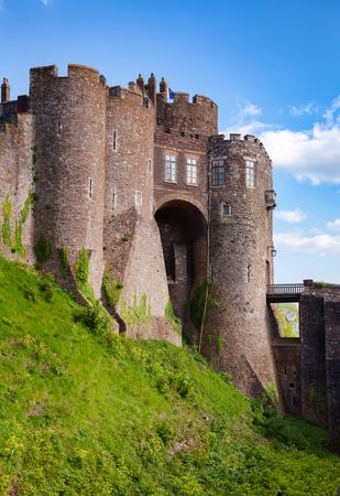 Medieval Dover Castle Gateway, Kent,  Southern England, UK