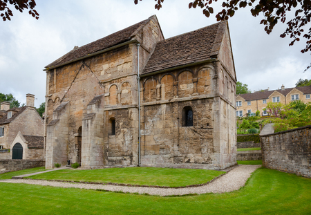 St Laurences Church in Bradford on Avon, one of very few surviving Anglo-Saxon churches in England, Wiltshire, Southwest England, UK Editorial