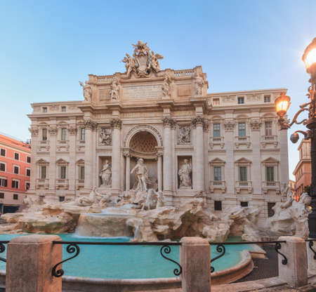 Trevi Fountain, the largest Baroque fountain in Rome and one of the most famous fountains in the world