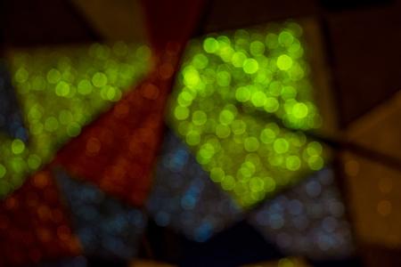 Shining shapes abstract background Stockfoto