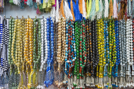 Colorful prayer beads Imagens