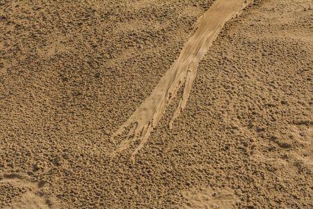 Beautiful sand formation