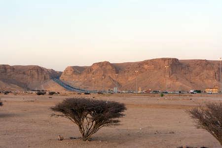 Edge of the world, Mountains in Riyadh, Saudi arabia