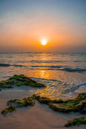 Beautiful Sunset seascape