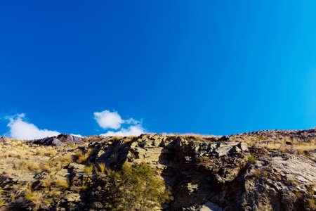 Beautiful mountain landscape, located in Banisad, Saudi arabia