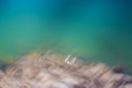 Water surface, Sun reflection, flower symble bokhe background image