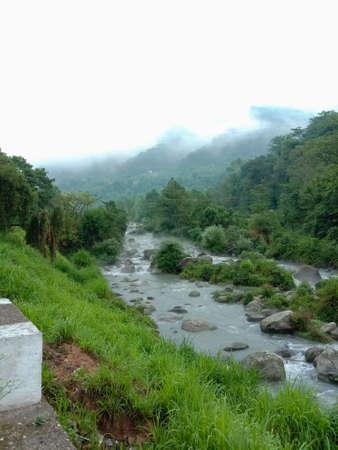 picture of river in morning in joginder nagar, himachal pradesh, India