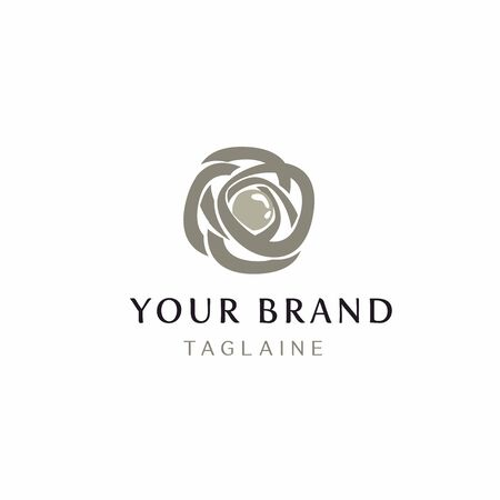 Logo for copyright jewelry, or any company focused on the female audience.