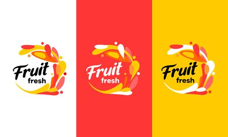 The logo for drinks. Sodas, lemonade juice