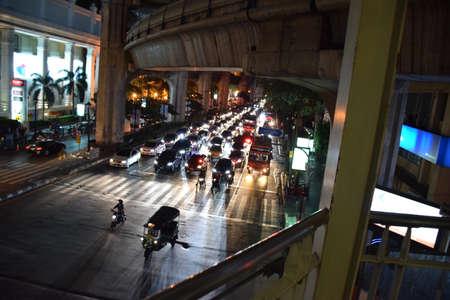 bangkok NIGHT: Bangkok Night Editorial