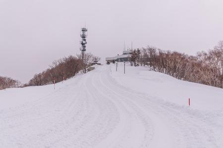 Mount Moiwa in winter Sapporpo,Hokkaido, Japan,