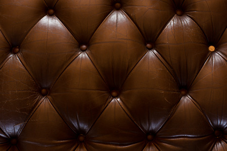Close up luxury texture of leather furniture