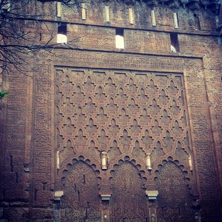 moroccan culture: Chellah Rabat Morocco old wall