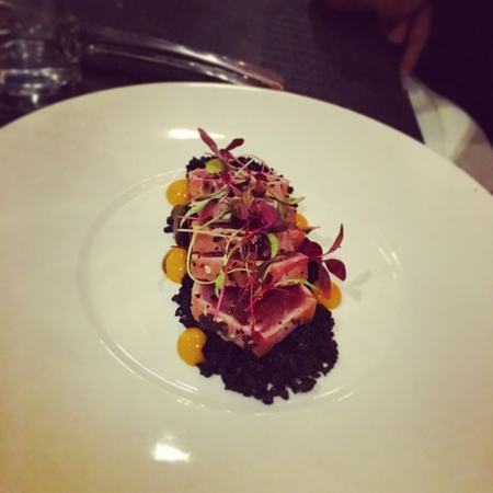 tunafish: Posh Tuna Steak