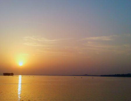 bhopal: Lake situated in Bhopal, India