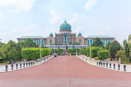 Malaysian Prime Minister's office in Putrajaya, It is a planned city, 25 km south of capital, serves as the federal administrative centre of Malaysia.