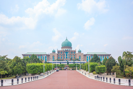 ministers: Malaysian Prime Ministers office in Putrajaya, It is a planned city, 25 km south of capital, serves as the federal administrative centre of Malaysia.