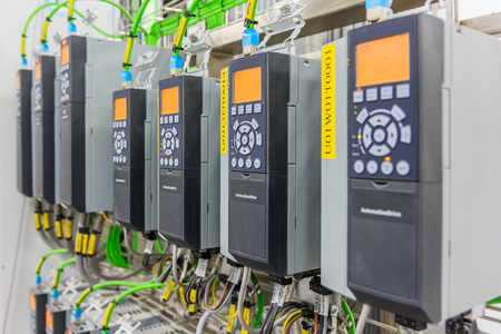 Electrical Drive controller application in industry plant Фото со стока - 74604407