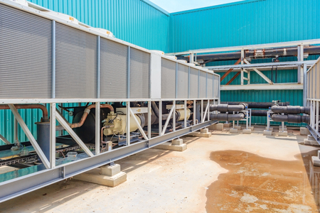 sheet metal: refrigerating unit for realization chilled water in an industry
