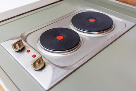 hobs: Induction cooktop stove in modern pantry