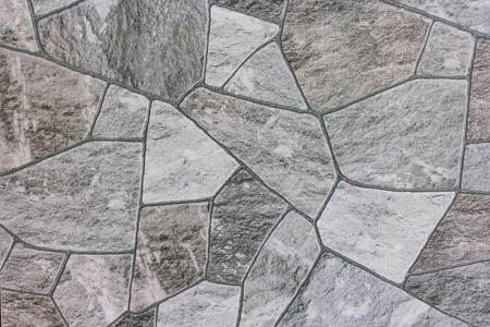 modern bathroom: The surface of the stone tiles for pattern and background. Stock Photo