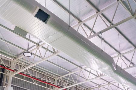 建物内部の空気ダクト、空気条件パイプ ライン システム空気フロー工業デザイン