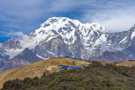 Beautiful view on the way to Mardi Himal ,Nepal.