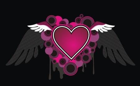 heart burn: Emo Heart