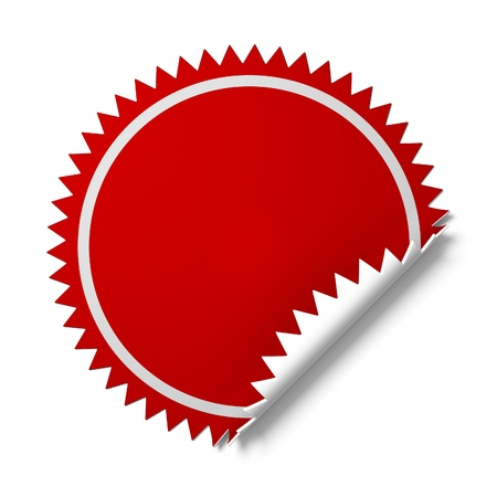 price sticker: Sticker for promotion.