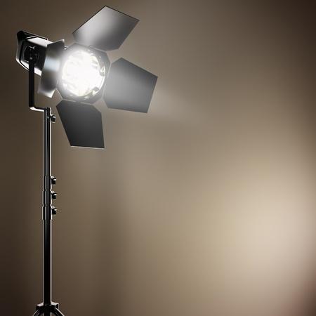 strobe: A 3D illustration of a studio flash.