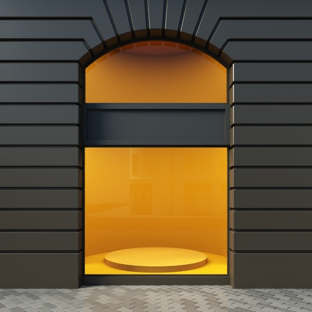 3D-Darstellung präsentiert im klassischen Stil. Tagesansicht. Standard-Bild - 12108121