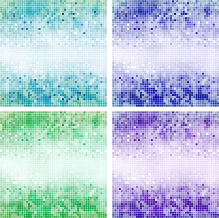 tapet: Background in the form of squares of different colors
