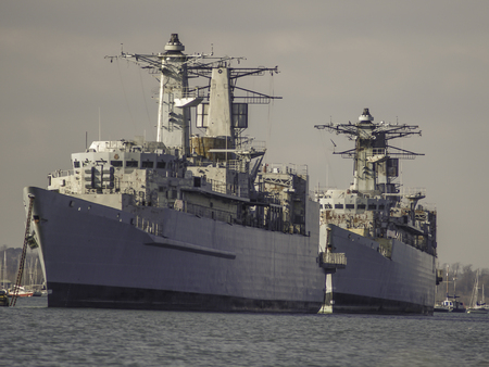 Old warships photo
