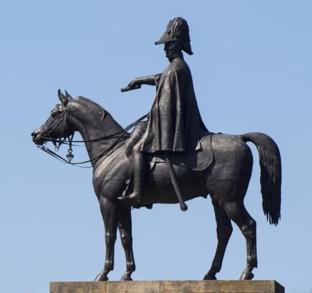 wellesley: A statue of the Duke of Wellington