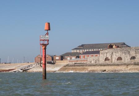 buoy: Navigation marker buoy Stock Photo