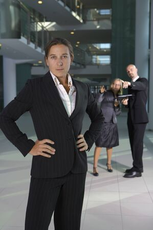 business woman posing  Stock Photo