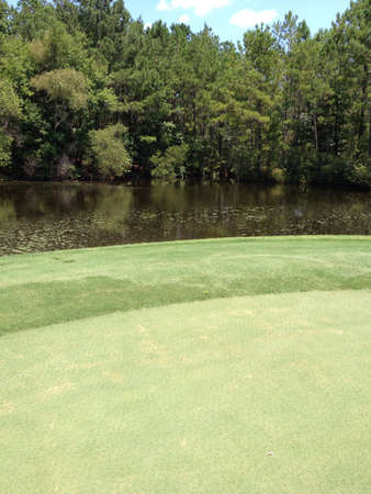 Water trap with golf