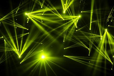 Concert Lighting Stock Photo