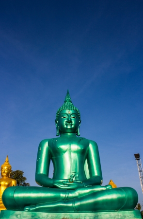 image of Buddha at chiangrai Thailand photo