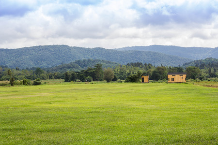 open fields at north Thailand