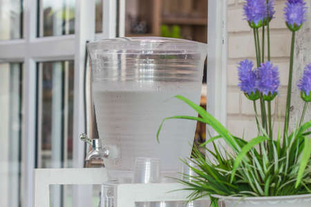 Water dispenser in the restaurant