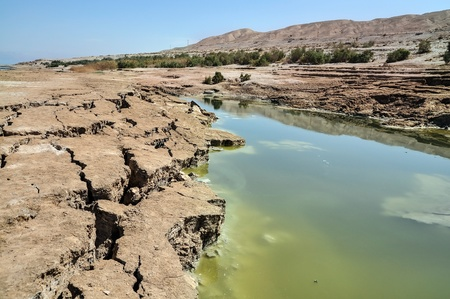 pitfall: view on conversions of the Dead Sea coast